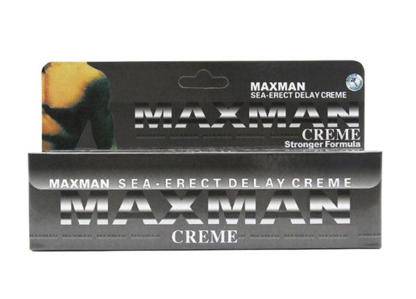 MAXMAN - Crema pentru intarzierea ejacularii